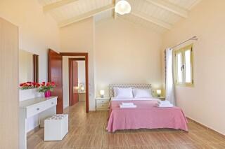 accommodation astra villas kefalonia cozy bedroom