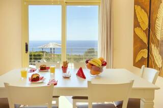 accommodation astra villas kefalonia dining room
