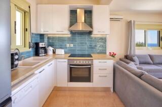 accommodation astra villas kefalonia equipped kitchen
