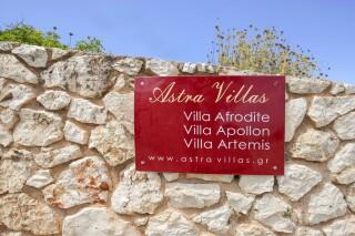 accommodation astra villas kefalonia exterior