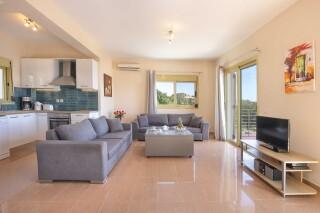 accommodation astra villas kefalonia lounge room