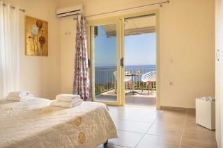 accommodation astra villas kefalonia sea view room