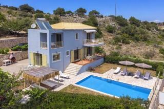 elegant astra villas in kefalonia